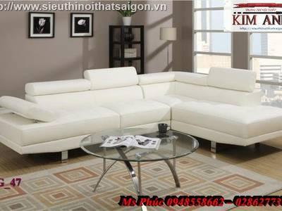 Sofa góc giá rẻ tphcm, sofa góc nhỏ gọn, giá sofa góc bọc vải bố, nỉ tại Đà Lạt, Đồng nai 5