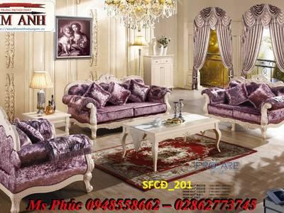 Sofa tân cổ điển giá rẻ, sofa cổ điển tphcm, giá ghế sofa đơn cổ điển Châu Âu tại Đà Lạt 17