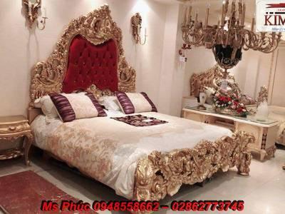 Ở đâu bán bộ giường ngủ cổ điển châu âu đẹp, giá rẻ tại quận 2, quận 7, gò vấp 3