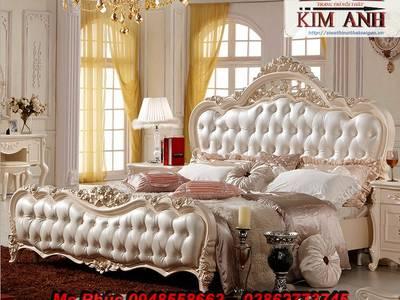 Ở đâu bán bộ giường ngủ cổ điển châu âu đẹp, giá rẻ tại quận 2, quận 7, gò vấp 7