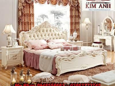 Ở đâu bán bộ giường ngủ cổ điển châu âu đẹp, giá rẻ tại quận 2, quận 7, gò vấp 10