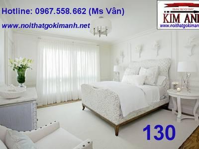 Giường ngủ cổ điển - giường cổ điển châu âu 4