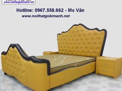 Giường ngủ cổ điển - giường cổ điển châu âu 13