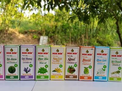 Bán các loại tinh dầu thiên nhiên nguyên chất Hoa Nén 12