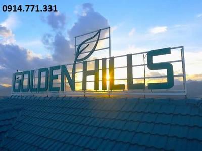 Bán lô góc khu A Golden Hills Đà Nẵng 0