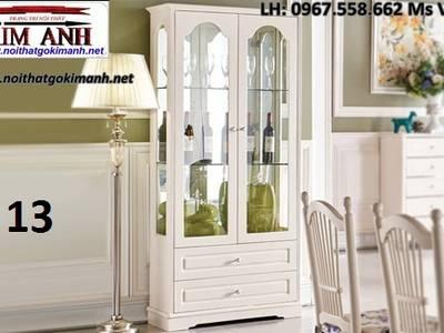 Tủ rượu tân cổ điển   tủ đựng rượu phong cách tân cổ điển 7