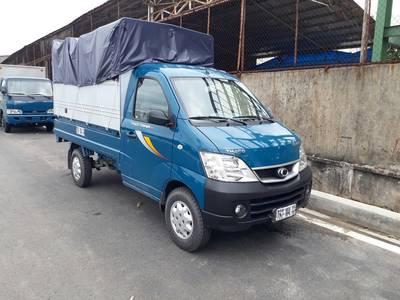 Bán xe tải nhỏ Thaco Towner 990, xe tải nhỏ thùng bạt phủ mui 990kg, hỗ trợ trả góp 2