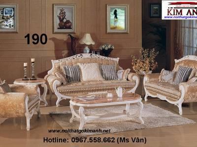 Ghế Sofa Cổ Điển Châu Âu - Mẫu Sofa Cổ Điển Đẹp Tân Phú Tân Bình 6