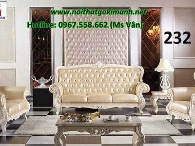 Ghế Sofa Cổ Điển Châu Âu - Mẫu Sofa Cổ Điển Đẹp Tân Phú Tân Bình 10