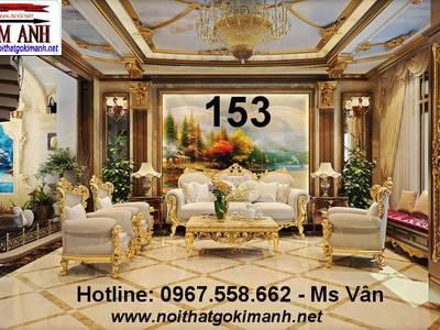 Ghế Sofa Cổ Điển Châu Âu - Mẫu Sofa Cổ Điển Đẹp Tân Phú Tân Bình 14