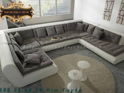 Sofa phòng khách   Sofa phòng khách chữ L giá rẻ tại Tiền Giang, Đồng Tháp 2