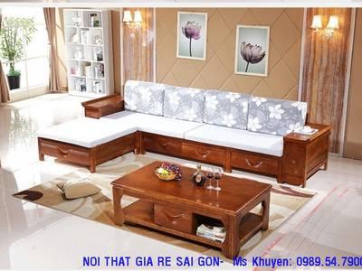 Sofa gỗ hiện đại tphcm. Sofa gỗ nệm 12