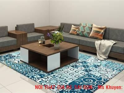 Sofa gỗ hiện đại tphcm. Sofa gỗ nệm 14