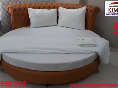 Giường tròn giá rẻ   xưởng làm giường ngủ hình tròn cao cấp giao hàng toàn quốc 0