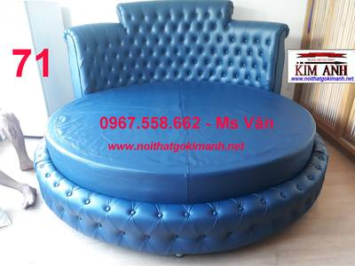 Giường tròn giá rẻ   xưởng làm giường ngủ hình tròn cao cấp giao hàng toàn quốc 11