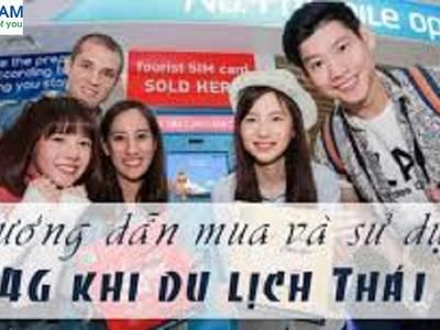 Sim 3G-4G du lịch Thái Lan giá rẻ 3
