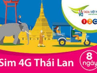 Sim 3G-4G du lịch Thái Lan giá rẻ 4