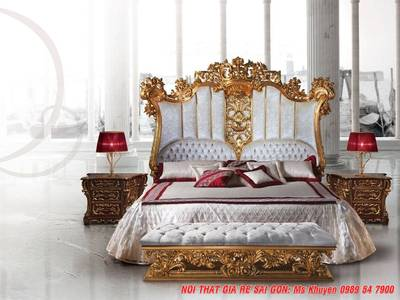 Giường ngủ tân cổ điển cao cấp 14