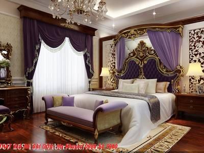 Giường ngủ tân cổ điển cao cấp 15