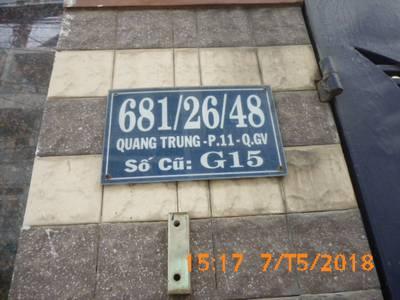 Bán nhà mặt tiền bên hông chợ Hạnh Thông Tây, Quang Trung, Gò Vấp, khu kinh doanh sầm uất 2