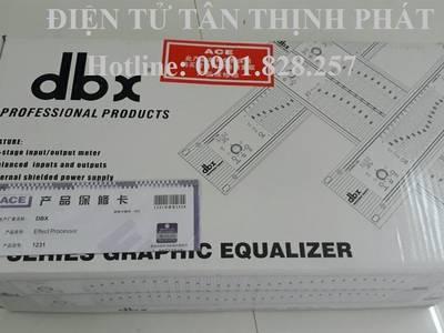 Bán thiết bị lọc âm thanh DBX Equalize 1231