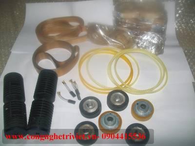 Bán linh kiện máy hàn túi ny lông liên tục FRM-980W / dầu hút chân không / mực in hạn sử dụng 10