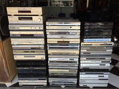 Bán buôn bán lẻ đồ audio bãi, md, cd, dvd, EQ, amply, loa giá tốt 2