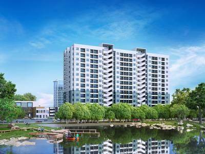 Chỉ 890 triệu, sở hữu ngay căn hộ Hiệp Thành Buildings 387A đường Lê Văn Khương 1