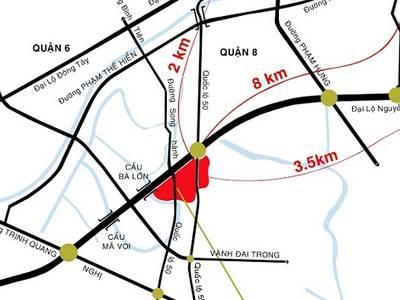 6 triệu đ/tháng được thuê căn hộ chưng cư mới xây dựng đường Nguyễn Văn Linh  gần QL 50 2
