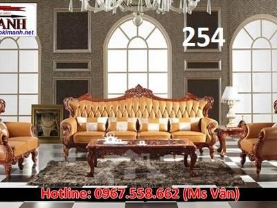 Sofa cổ điển   mẫu bàn ghế phòng khách tân cổ điển cao cấp cực đẹp 1
