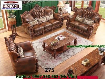 Sofa cổ điển   mẫu bàn ghế phòng khách tân cổ điển cao cấp cực đẹp 9