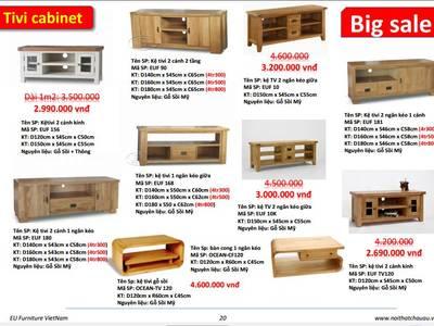 Tủ gỗ sồi 3 ngăn kéo hàng xuất khẩu 12