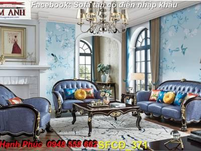 Bật mí cách chọn bộ sofa phòng khách tân cổ điển cao cấp, chất lượng - Nội thất Kim Anh 2