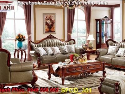Bật mí cách chọn bộ sofa phòng khách tân cổ điển cao cấp, chất lượng - Nội thất Kim Anh 6
