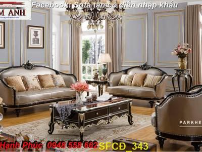 Bật mí cách chọn bộ sofa phòng khách tân cổ điển cao cấp, chất lượng - Nội thất Kim Anh 9
