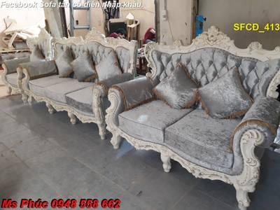 Bật mí cách chọn bộ sofa phòng khách tân cổ điển cao cấp, chất lượng - Nội thất Kim Anh 16