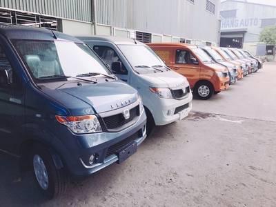 Bán xe tải Van Kenbo 950kg màu xanh lam, giá tốt 4