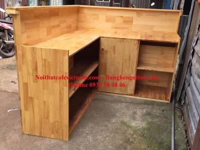Quầy bar gỗ, quầy pha chế gỗ đẹp 3