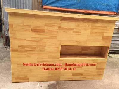 Quầy bar gỗ, quầy pha chế gỗ đẹp 4