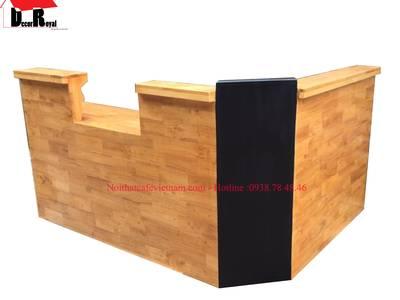 Quầy bar gỗ, quầy pha chế gỗ đẹp 5