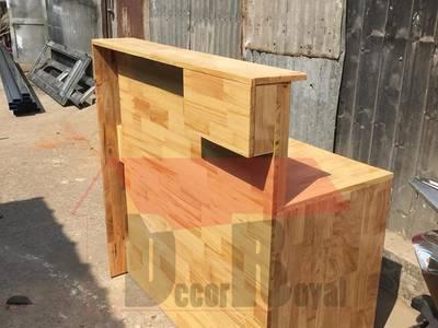 Quầy bar gỗ, quầy pha chế gỗ đẹp 7