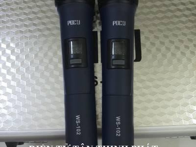 Bán micro dành cho amply, loa kéo pdcj ws-102 1