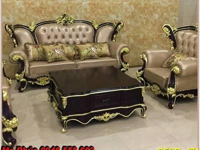 Xả hàng thanh lý tồn kho sofa tân cổ điển nhập khẩu kiểu dáng châu âu giá rẻ toàn quốc 13