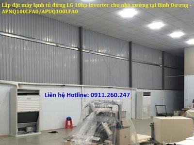 Nên tin tưởng nhà thầu nào về lắp đặt Máy lạnh tủ đứng LG 10hp cho nhà xưởng   Xem ngay nếu cần 4
