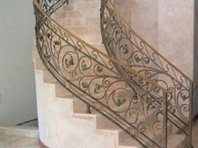 Cầu thang sắt nghệ thuật, cầu thang sắt, lan can cầu thang sắt 0