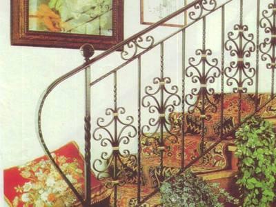 Cầu thang sắt nghệ thuật, cầu thang sắt, lan can cầu thang sắt 19