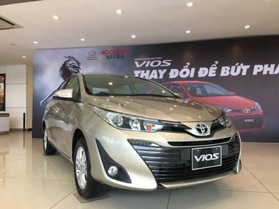 Bán xe Toyota Vios E CVT, Vios G CVT, Vios E 2019 hỗ trợ mua xe trả góp lãi suất 0 2