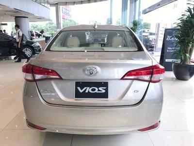 Bán xe Toyota Vios E CVT, Vios G CVT, Vios E 2019 hỗ trợ mua xe trả góp lãi suất 0 8