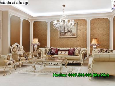 Ghế Sofa Cổ Điển Cho Phòng Khách Đẳng Cấp Hoàng Gia 7