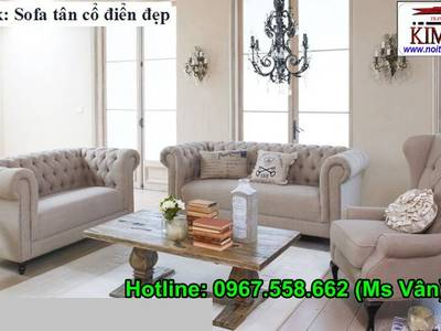 Ghế Sofa Cổ Điển Cho Phòng Khách Đẳng Cấp Hoàng Gia 10